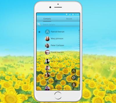 Green Sunshine Sunflower Theme screenshot 4