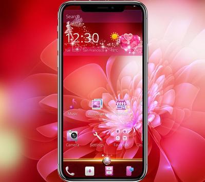 Pink Shine Rose Love Theme poster