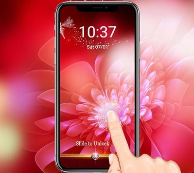 Pink Shine Rose Love Theme screenshot 2