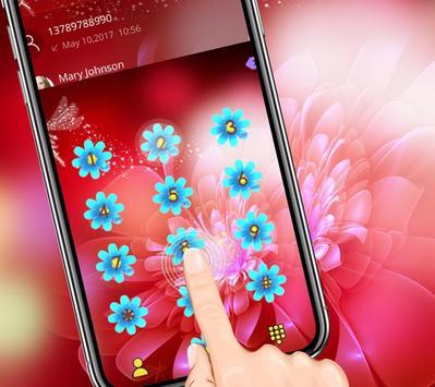 Pink Shine Rose Love Theme apk screenshot