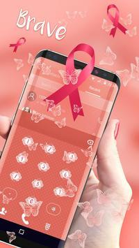 Pink Ribbon Awareness Theme - Breast Cancer screenshot 3