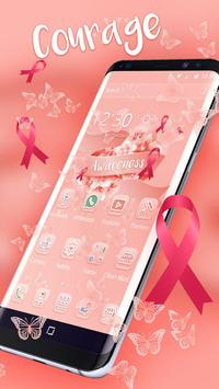 Pink Ribbon Awareness Theme - Breast Cancer screenshot 4