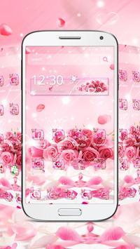 Rose Glitter Theme poster
