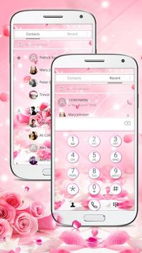 Rose Glitter Theme screenshot 1