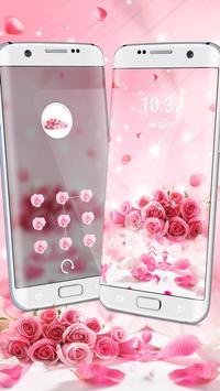 Rose Glitter Theme screenshot 2