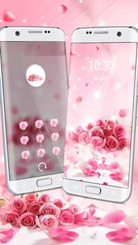 Rose Glitter Theme screenshot 2