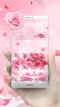 Rose Glitter Theme screenshot 3