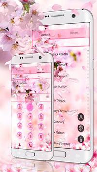 Sakura Drop Theme screenshot 1