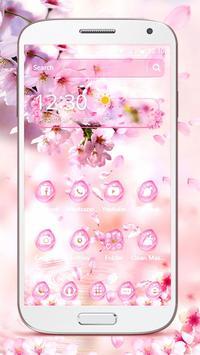 Sakura Drop Theme screenshot 2