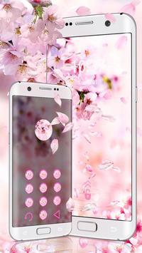 Sakura Drop Theme apk screenshot