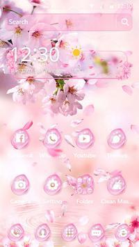 Sakura Drop Theme screenshot 4