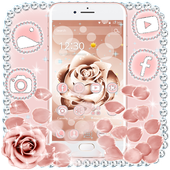Beautiful Rose Gold Theme icon
