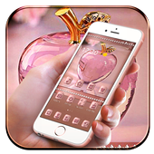 Rose Gold Apple Crystal Theme icon