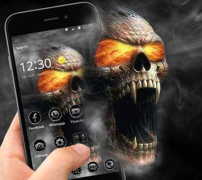 Hell Death Skull Horror Theme poster