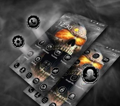 Hell Death Skull Horror Theme screenshot 3