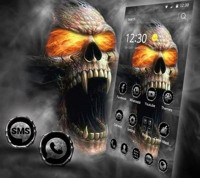 Hell Death Skull Horror Theme screenshot 4