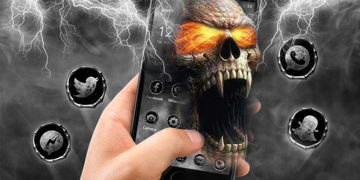 Hell Death Skull Horror Theme screenshot 5