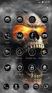 Hell Death Skull Horror Theme screenshot 7