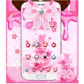 Pink Sweet Cake Theme icon