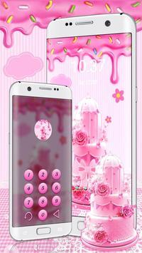 Pink Sweet Cake Theme screenshot 2