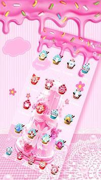 Pink Sweet Cake Theme screenshot 4
