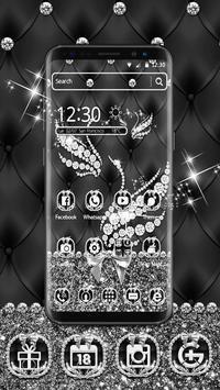 Silver Diamond Swan Theme poster