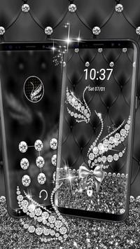 Silver Diamond Swan Theme screenshot 1