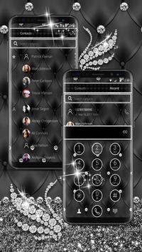 Silver Diamond Swan Theme screenshot 3