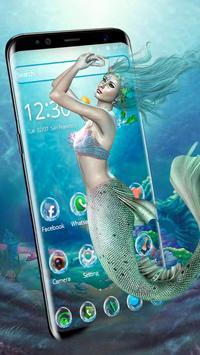 Sea Mermaid Theme poster