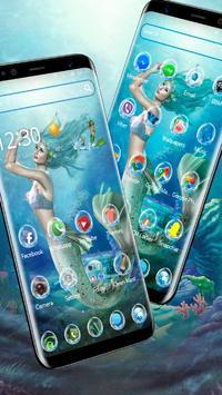 Sea Mermaid Theme screenshot 1