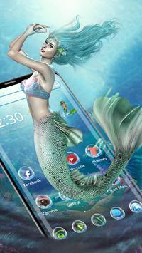 Sea Mermaid Theme screenshot 2