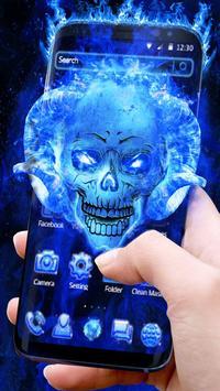 Blue Fire Skull screenshot 2