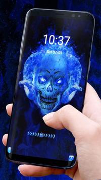 Blue Fire Skull screenshot 3