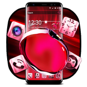 Red Crystal Edge Effect Theme icon