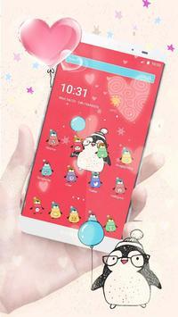 Lovely Penguin Theme poster
