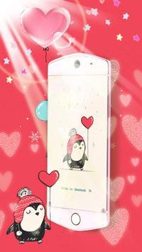 Lovely Penguin Theme screenshot 3