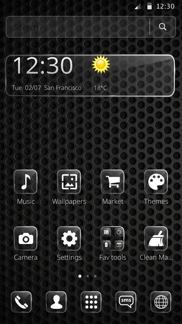 Cool Black Theme for Android - APK Download