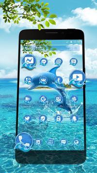 Aquatic Dolphin Mammals Theme screenshot 1