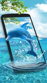 Aquatic Dolphin Mammals Theme screenshot 2