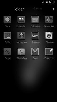 Black and white wallpaper theme orangutan theme screenshot 1