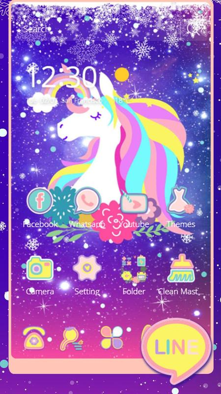 Lovely unicorn shining star and purple sky apk download free lovely unicorn shining star and purple sky apk screenshot altavistaventures Images