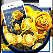 Golden Jeans Romantic Rose Theme icon