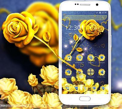 Golden Jeans Rose Theme screenshot 1