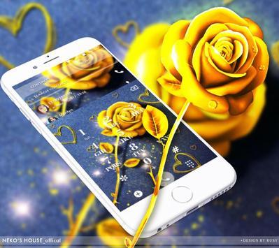 Golden Jeans Rose Theme screenshot 4