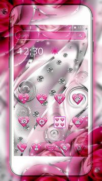 Crimson Hearts Diamond Theme poster