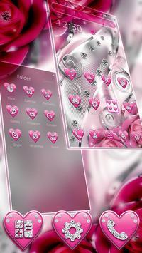 Crimson Hearts Diamond Theme screenshot 1