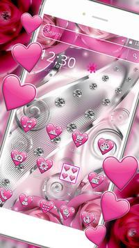 Crimson Hearts Diamond Theme screenshot 2