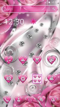 Crimson Hearts Diamond Theme screenshot 3