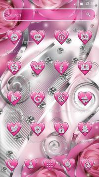 Crimson Hearts Diamond Theme screenshot 4