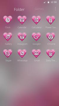 Crimson Hearts Diamond Theme screenshot 5